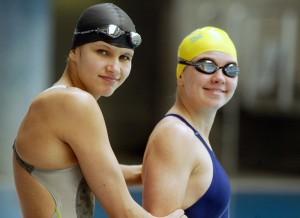 Anna och Alexandra Polivanchuk.Foto: Arne Forsell, Bildbyrån. Klicka för större bild.