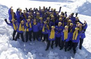 Svenska truppen i Sundsvall 2003. Klicka för större bild.