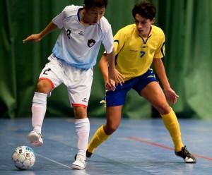 Oliver Rasinaho, fotboll och futsal. Foto: Hans Rimberg.